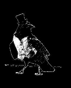 Charming Raven Logo